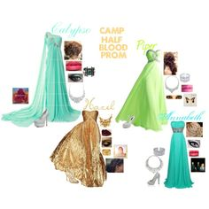 """Camp Half Blood Prom!!!"" by rebecca41622 on Polyvore, I made this too!!!!!!!!!!!!!"