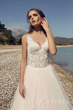 e500382911 Suknia ślubna Lanesta Quartz The Heart of the Ocean - Wedding.
