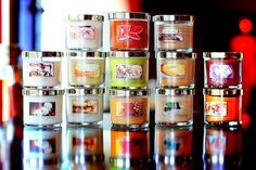 Good sale today online at B  Beautiful display of candle love! <3  #FragranceFan