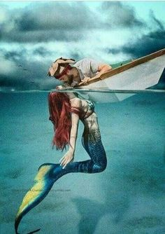 ♡ BEWARE the Mermaids Kiss.