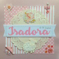 Quadro porta maternidade (visão geral da página decorada)