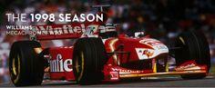 1998 Villeneuve - Frentzen