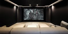 Look Inside a Dark Knight Home Theater with JBL Audio and 4K Video - CE Pro