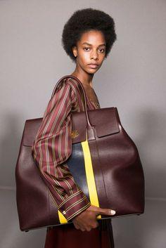 Mulberry at London Fashion Week Spring 2017 - Backstage Runway Photos