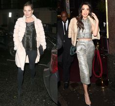 Amal Clooney, Kate Moss, and Salma Hayek Cozy Up to Party Season With a Touch of Fur