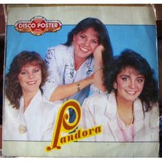 PANDORA, SOLO EL Y YO, LP 12´, POP NACIONAL