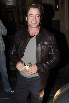 Dermot Mulroney Photos: Dermot Mulroney Leaves Riva Bella