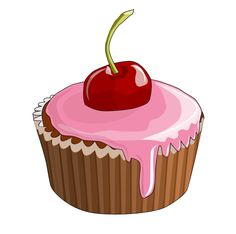 cup cake vector art - Google Search