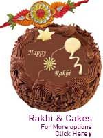 Rakhi and cake delivery  http://www.lovenwishes.com/rakhicake.htm