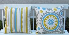 Accent Pillows Throw Pillow Covers 20 x 20 by FestiveHomeDecor, $34.00