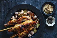 Chicken witch garlick #grill #bbq #przepisy #recipe #meat #food #pornfood #yummy #kurczak