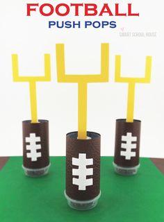 Football Push Pops!