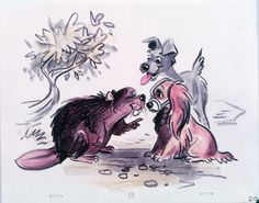 Concept art | Lady and The Tramp