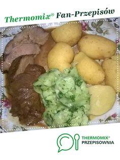 Karczek z Varomy w sosie sojowym jest to przepis stworzony przez użytkownika szczypiorek. Ten przepis na Thermomix<sup>®</sup> znajdziesz w kategorii Dania główne z mięsa na www.przepisownia.pl, społeczności Thermomix<sup>®</sup>.