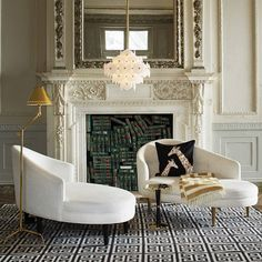 Elegant living room design ideas by Jonathan Adler #interiordesigner #bestinteriordesigners #interiordesigninspiration home interior design, interior design ideas, interior decorating ideas Visit us at www.luxxu.net