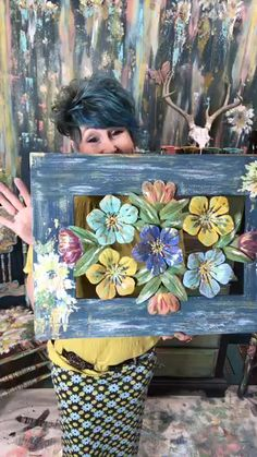 a fun place to get info on DIY paint and share your work! Faux Flowers, Facebook Sign Up, Diy Painting, Painted Furniture, Frame, Fun, Design, Frames, Lol