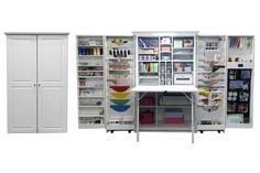The Hobby Box Craft Cabinet Craft Room Storage, Locker Storage, Craft Rooms, Craft Space, Hobby Box, Craft Cabinet, Craft Organizer Cabinet, Craft Armoire, Organizers