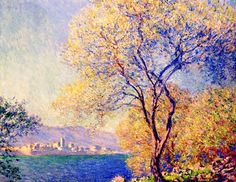 Claude Monet. Antibes Seen from the Salis Gardens (1888).