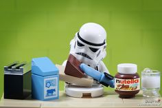 Stormtrooper's breakfast | Oh, Nutella ! Instagram: www.inst… | Flickr