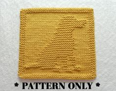 LABRADOR RETRIEVER Knit Pattern Knit por AuntSusansCloset en Etsy