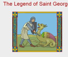Animation story of St George perfect for interactive whiteboards.
