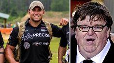 Green Beret Sniper, Bryan Sikes, hilariously slams 'cupcake' Michael Moore for calling American Sniper, Chris Kyle, a coward.