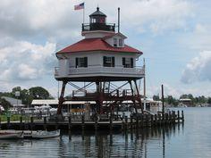 Drum Point lighthouse [1883 - Solomons, Maryland, USA]