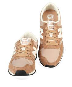 Beige New Balance schoenen U420 sneakers