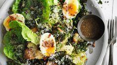 Hail kale! Adam Liaw's winter Caesar salad recipe