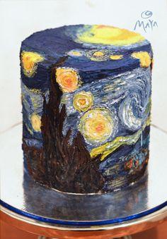 Van Gogh's Starry Night (the extended remix) by Abha Kohli