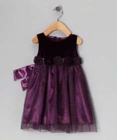 Purple Dress - Infant & Toddler by Good Lad Apparel on #zulilyUK today!