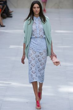 Minor panic attack over Burberry's pants-less baby blue HEAVEN.