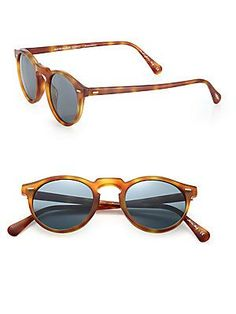 54c3d0df99b Oliver Peoples - Gregory Peck 47MM Round Sunglasses