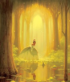 """The Princess and the Frog - """"Dreams do come true in New Orleans."""""""