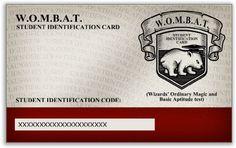 WOMBAT Student Identification Card
