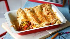 ratatouille z naleśników Ratatouille, Crepes, Zucchini Aubergine, Lasagna, Dinner, Cooking, Ethnic Recipes, Food, Eggplant