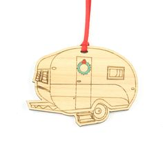 Were big on Christmas at Dick and Dora! The options are endless for making a statement at your home for Christmas. This is this year's must have fun addition to your tree. It would make the perfect gift for any caravan-ing  enthusiast.
