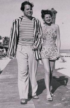 Matrimonio con Rita Heyworth. Welles se casó tres veces y tuvo un hijo con cada mujer, se casó con Rita en 1943 y se divorciaron 5 años mas tarde | seestrena.com