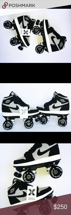 13e44ce1216b57 Air Jordan Retro 1 RollerSkates various Sizes Custom Designed Air Jordan RollerSkates  Designed by Malibu ClassiX