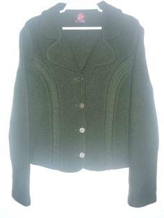 Classic Jacket Vintage Wool Forest Green por LatourdeCarol en Etsy, €29.00
