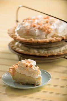 Classic coconut cream pie