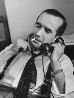 April 25, 1908 – April 27, 1965: Edward R Murrow: 'We hardly need to be reminded that we are living in an age of confusion — a lot of us have traded in our beliefs for bitterness and cynicism or for a heavy package of despair, or even a quivering portion of hysteria. Opinions can be picked up cheap in the market place while such commodities as courage and fortitude and faith are in alarmingly short supply.'