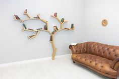 The Beech Tree Shelf 1.9m high by 2.4m wide  by BespOakInteriors