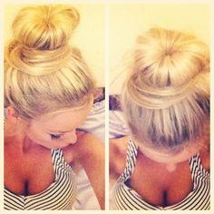 I wish I had long hair to do this :(