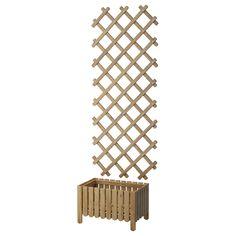 ASKHOLMEN Blomlåda med spaljé, utomhus - IKEA