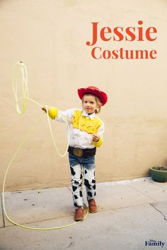 This DIY Jessie Costume makes for an adorable 'Toy Story'-inspired weekend of dress up or for Halloween.