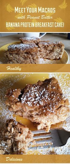 Getting enough protein is crucial to muscle-sparing weight loss. Get the recipe for an irresistible peanut butter banana protein breakfast cake now!