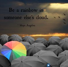 Are you a rainbow today?