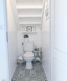 Elegant compact toilets for small bathrooms that you must have Cloakroom Toilet Downstairs Loo, Toilet For Small Bathroom, Bathroom Under Stairs, Toilet Under Stairs, Compact Bathroom, Bathroom Layout, Bathroom Interior, Interior Livingroom, Understairs Toilet