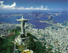 Someday I will visit Rio De Janeiro, see the giant Jesus and celebrate Carnival
